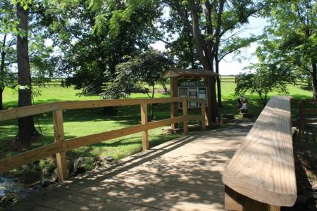 Rady Park walking trail