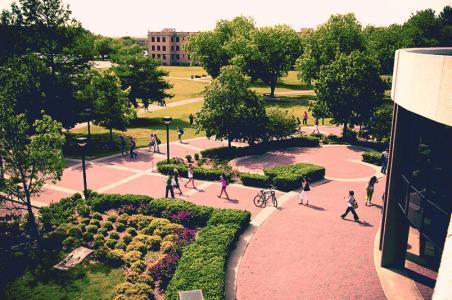 Abilene University arboretum