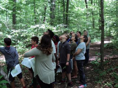City of New Albany Arboretum at Swickard Woods guided tour