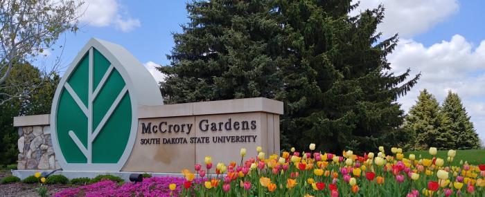 McCrory Garden Entrance