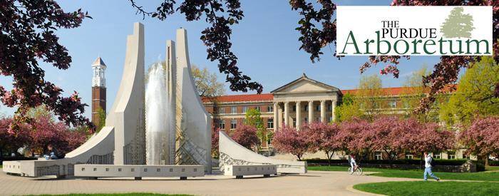 The Purdue Arboretum campus