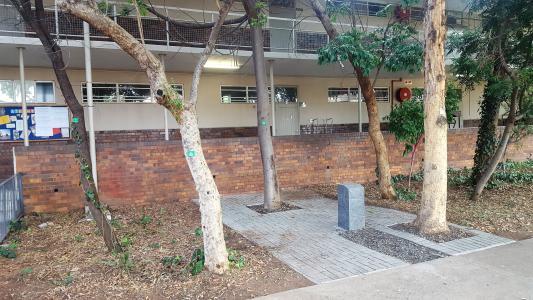 Rustenburg High school grounds