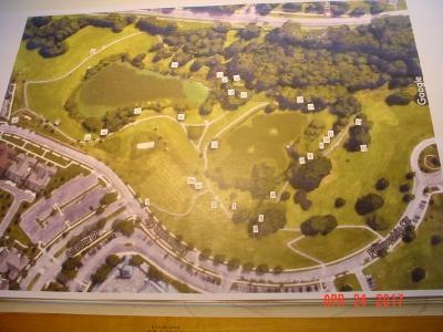 Asbury Methodist Village Arboretum map