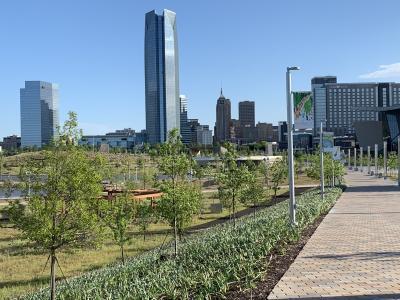 Scissortail Park and Arboretum