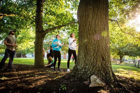 Missouri Arboretum - students botany lab