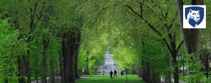 Penn State campus arboretum